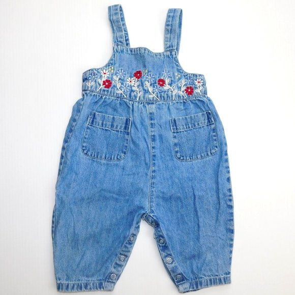 Baby Gap Navy Blue Corduroy Overalls Size 18-24 months